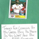 1984 Topps Glossy All Star Ozzie Smith St Louis Cardinals # 16