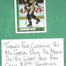 1991 92 Topps Jaromir Jagr Rookie Pittsburgh Penguins # 9