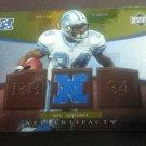 2007 Upper Deck NFC Apparel Kevin Jones Detroit Lions Jersey Card # NFC-KJ