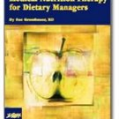Medical Nutrition Therapy for Dietary Managers