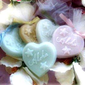 Beach Theme Lilac Aloha Soap Wedding Favor
