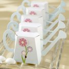 English Garden Watering Can Wedding Favor Box Set of 12