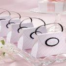 Fairytale Princess Pink Plaid Purse Favors 12 Wedding