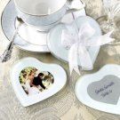 Capture My Heart Photo Coasters Set of 2 Wedding Favor