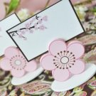 Cherry Blossoms Wedding Favor Place Card Holder