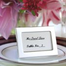 Wedding Favor Silver Miniature Place Card Frame