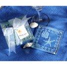 Beach Theme Wedding Favor SeaShell and Star Fish Glass