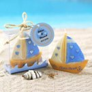 Beach Theme Wedding The Love Boat Candle Wedding Favor