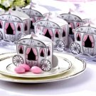 Fairytale Wedding Theme Enchanted Carriage Favor Boxes