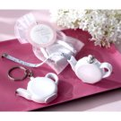 Wedding Favor Love is Brewing Teapot Tape Measure