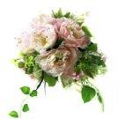 Elegant and Beautiful Hibiscus Wedding Bridal Bouquet