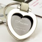 Chrome Heart Keyring/Mini Photo Frame Wedding Favor