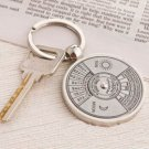"""Timeless"" Calendar Keyring in Velvet Gift Bag"