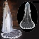 1 Layer Cathedral Length Wedding Veil TS057-00069057