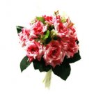 Elegant Fuchsia Rose Wedding Bridal Bouquet 0797-SIM043
