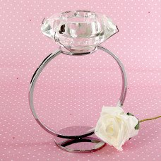Big Diamond Candle Holder