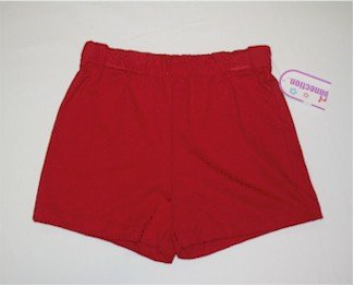 XS(4/5) red shorts