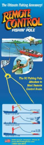 Go Fishing with any Remote Control Boat with The RC Fishing Pole