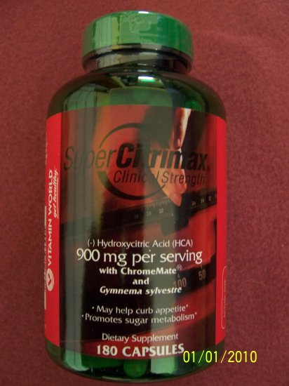 Vitamin World Super Citrimax 900mg 180 Capsules