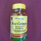 Vitamin World Beta-Carotene 25,000IU 250 Softgels