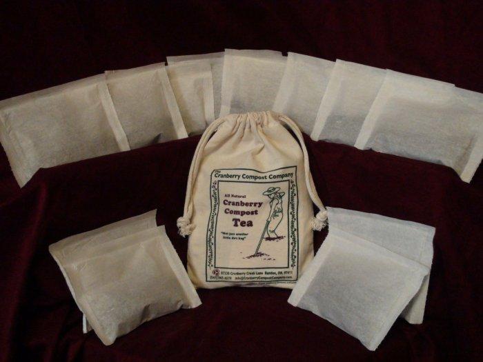 Cranberry Compost Tea - 1 dozen tea bags