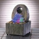 35597 Rainbow Colored Rock Fountain