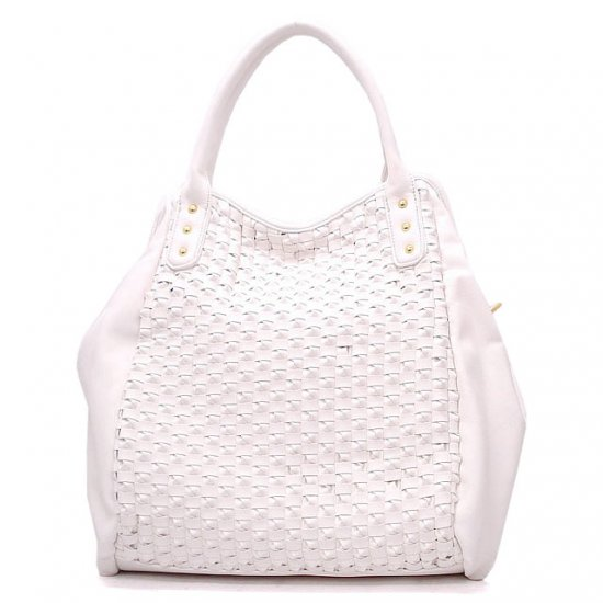 UE Adalyn Hobo Handbag Purse, White