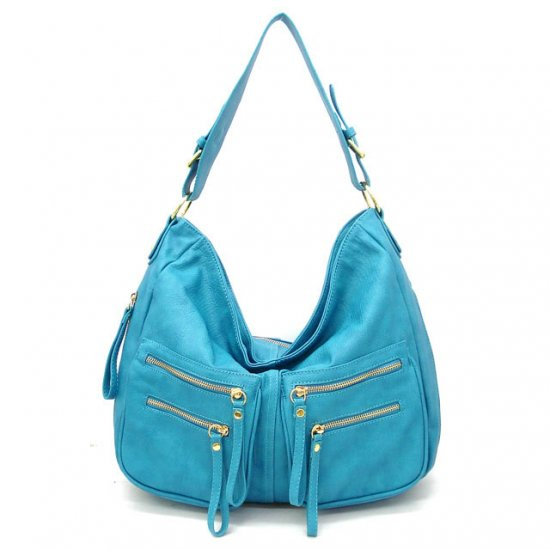 UE Addie Hobo Handbag Purse, Blue