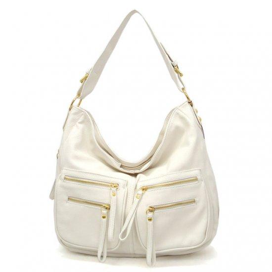 UE Addie Hobo Handbag Purse, White