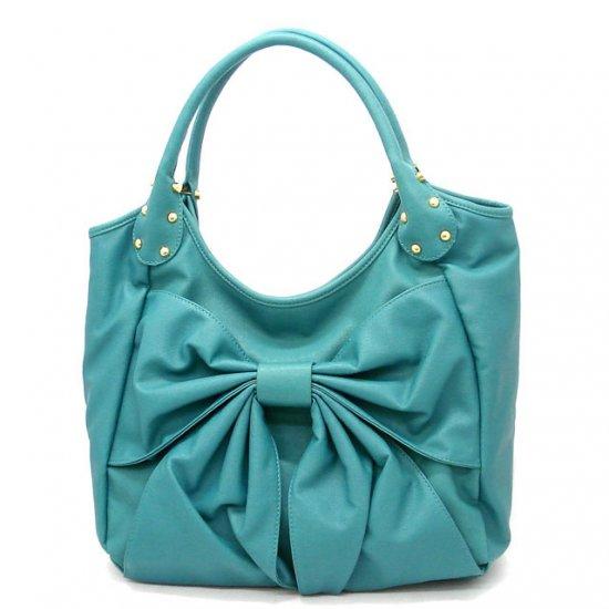Abella Hobo Handbag Purse, Turquoise