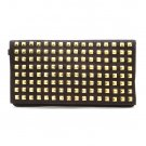 Urban Expressions Studded Clutch Handbag, Purple