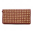 Urban Expressions Studded Clutch Handbag, Red