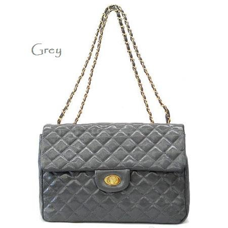 Urban Expressions Hettie Quilted Shoulder Handbag, Grey