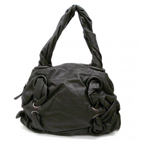 Marvel Twisted Handles Handbag Purse, Black