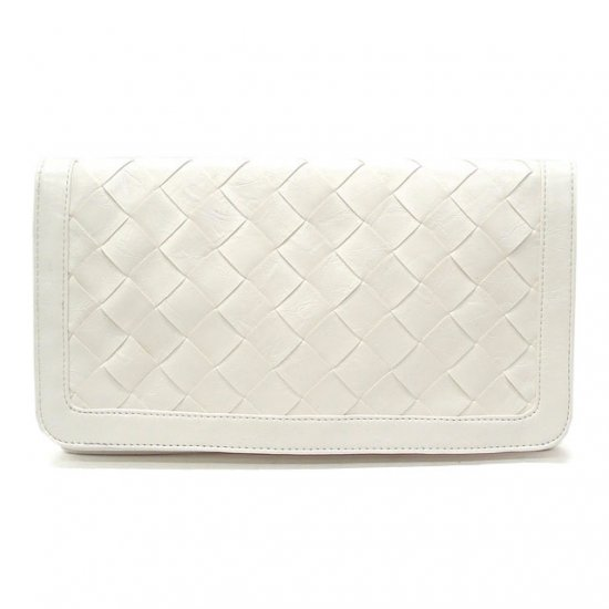 Marvela Clutch Handbag, white