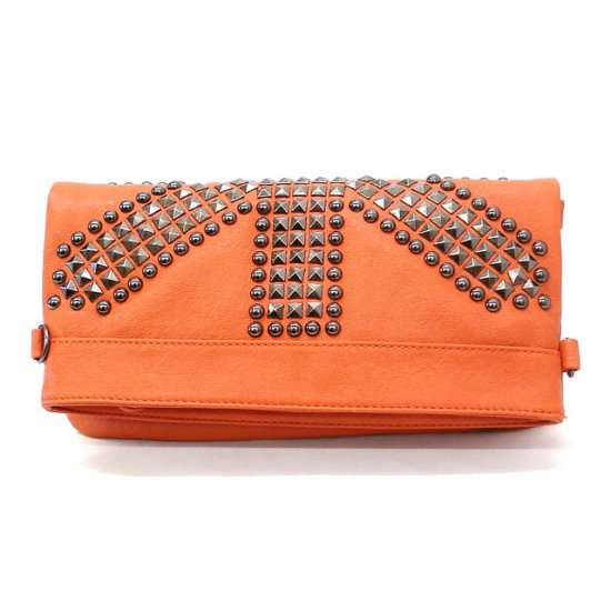 Marvella Clutch Shoulder  Handbag, Orange