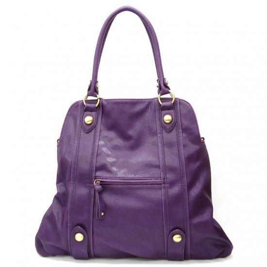 Urban Expressions Claral Women's Handbag Purse, Purple
