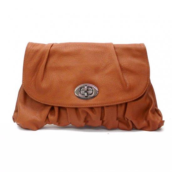 Urban Expressions Holly Clutch Handbag, Cognaq