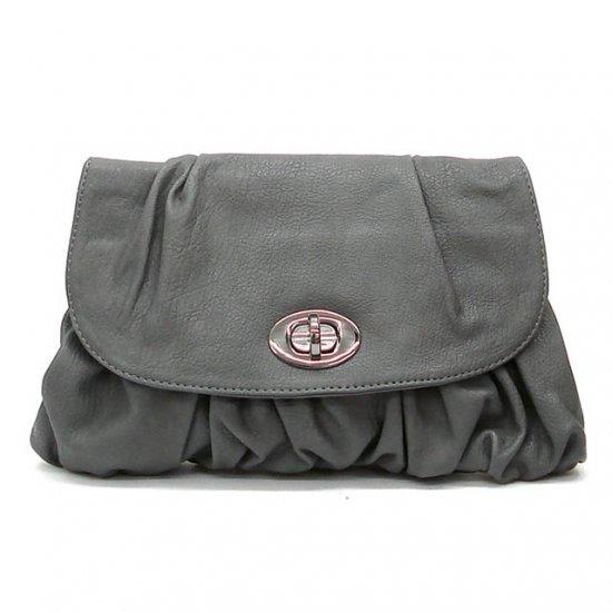 Holly Clutch Handbag, Grey