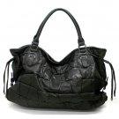 Honore Tote Handbag Purse, Black