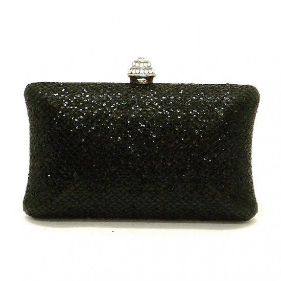 Clarice Evening Handbag, Black