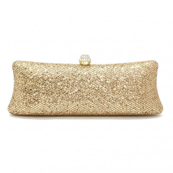 Urban Expressions Huguetta Evening Handbag, Gold