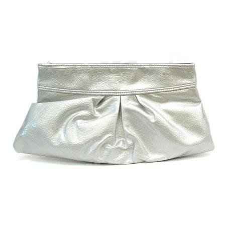 Mathilda Clutch Handbag, Silver