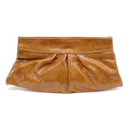 Mathilda Clutch Handbag, Tan