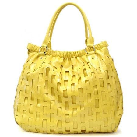 Urban Expressions Mathilde Hobo Handbag Purse, Yellow