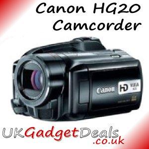 Canon HG20 Camcorder