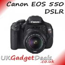 Canon EOS 550D DSLR with 18-55 Lens