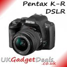 Pentax K-R DSLR in blue with 18-55mm Lens