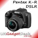 Pentax K-R DSLR in blue with 18-55mm Lens