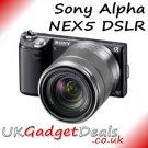 Sony Alpha Nex5 Compact DSLR +18-55 Lens